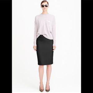 JCrew no. 2 pencil skirt - cotton size 6